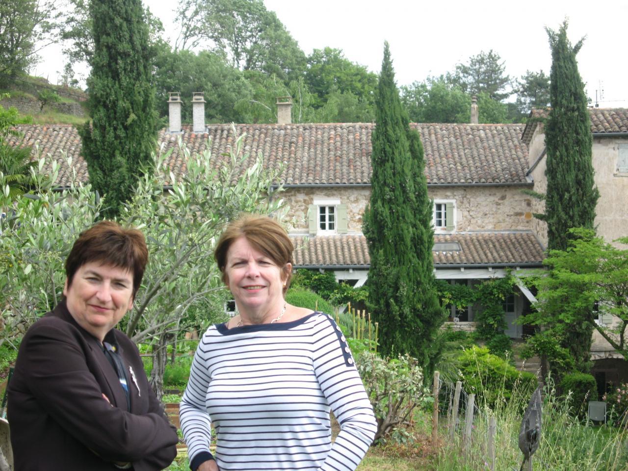 Marinette et Christine