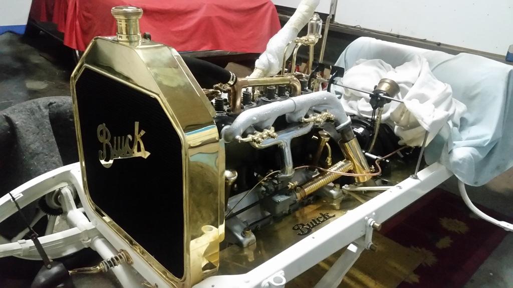 Restauration de très haut niveau sur la  Buick 1910