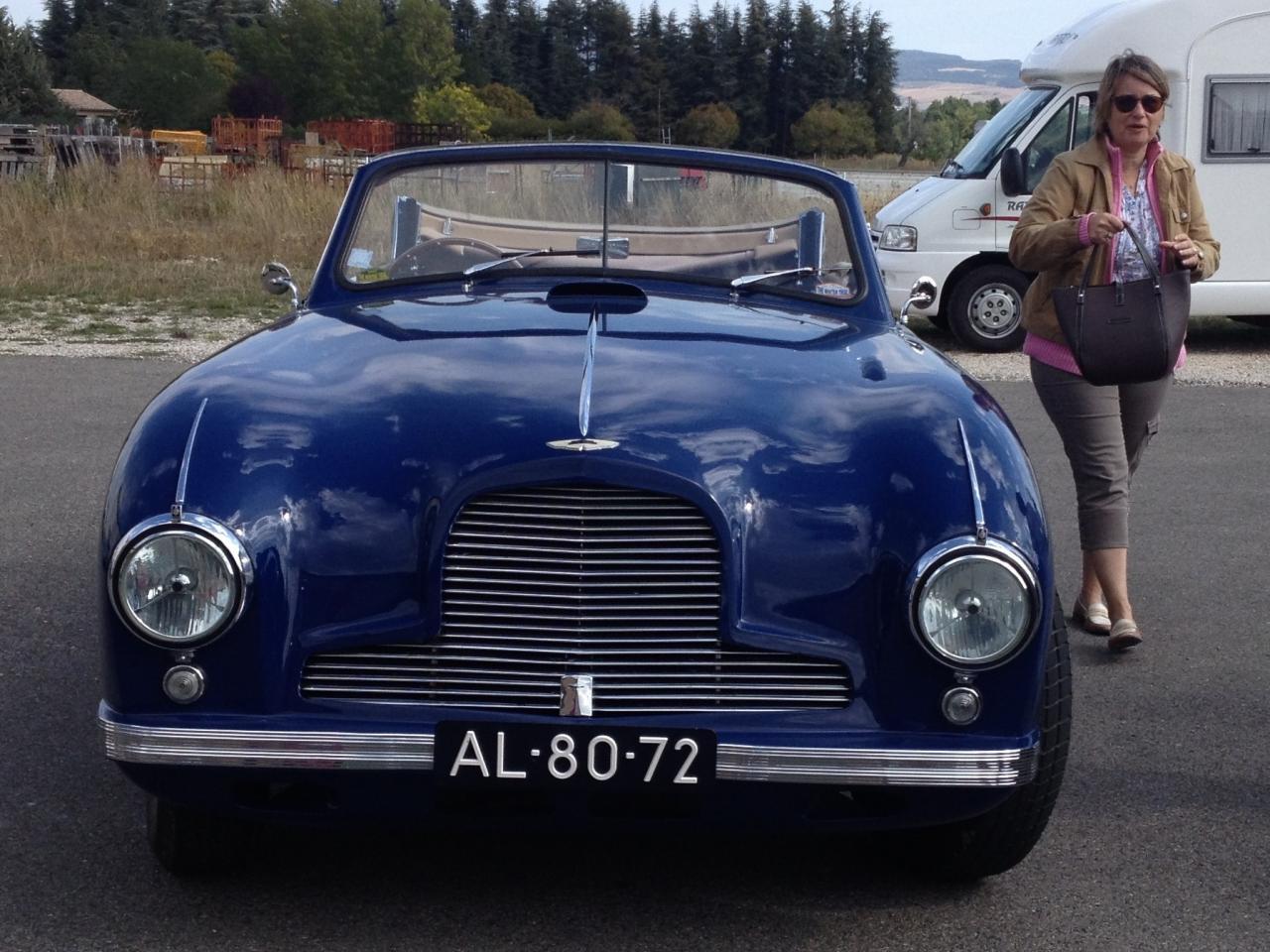 Aston Martin de Jean-Claude