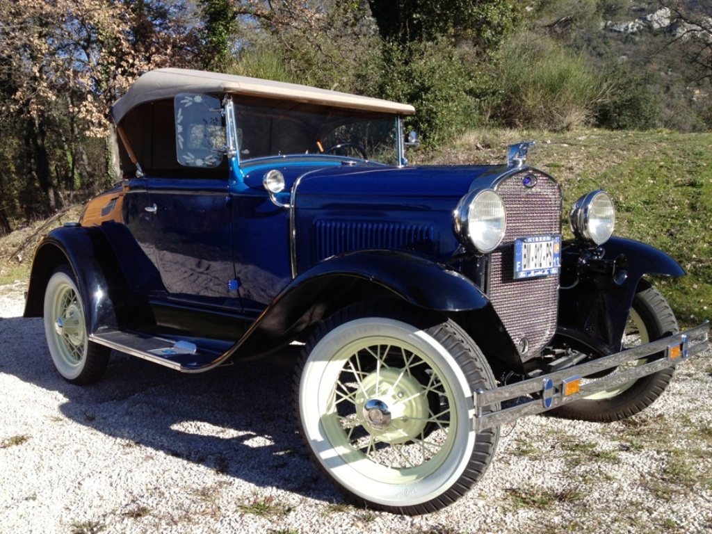 Ford A roadster 1930 de Claude