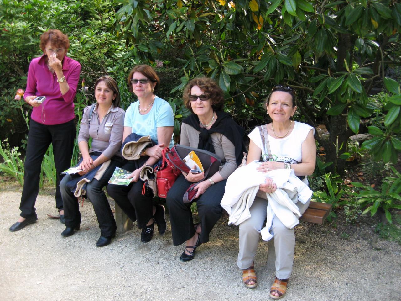 Simone, Carmen, Christine, Mireille et Joëlle