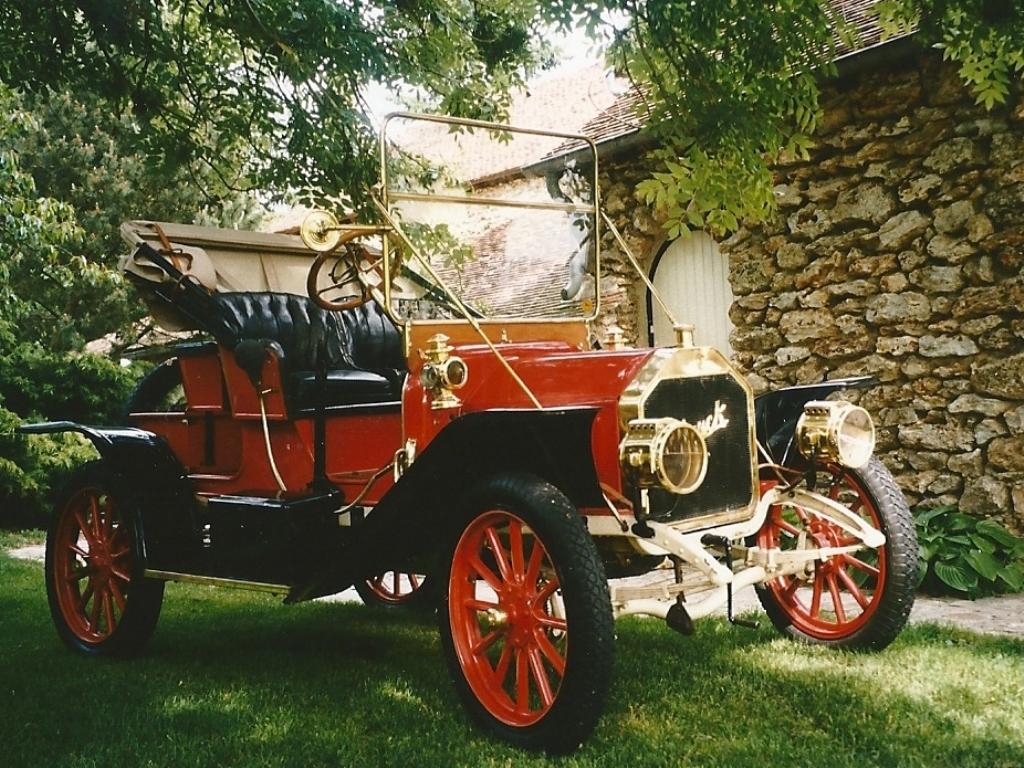 Voici la Buick à l'origine...