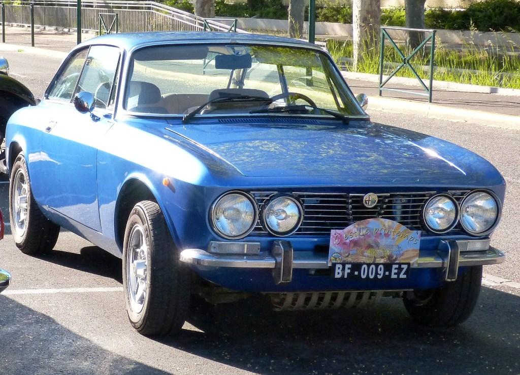 Alfa Romeo - Coupé Bertone 2000cm3 de Maurice