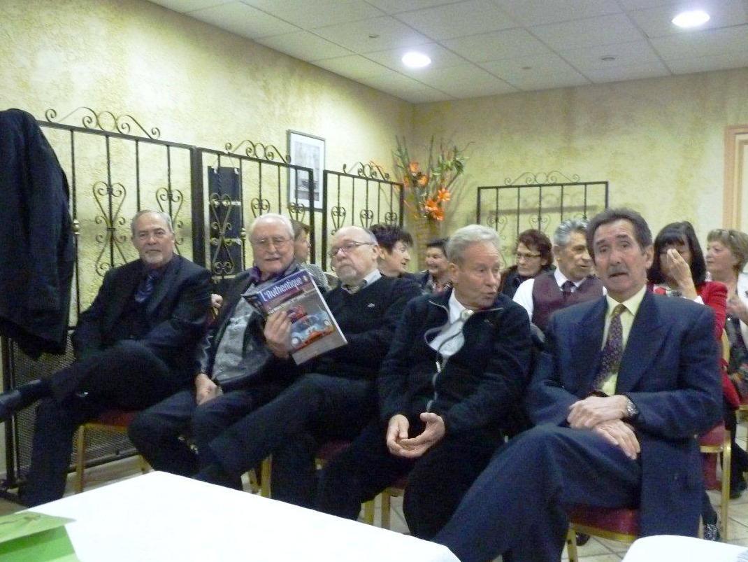 Maurice, Alain, Claude, Daniel et René