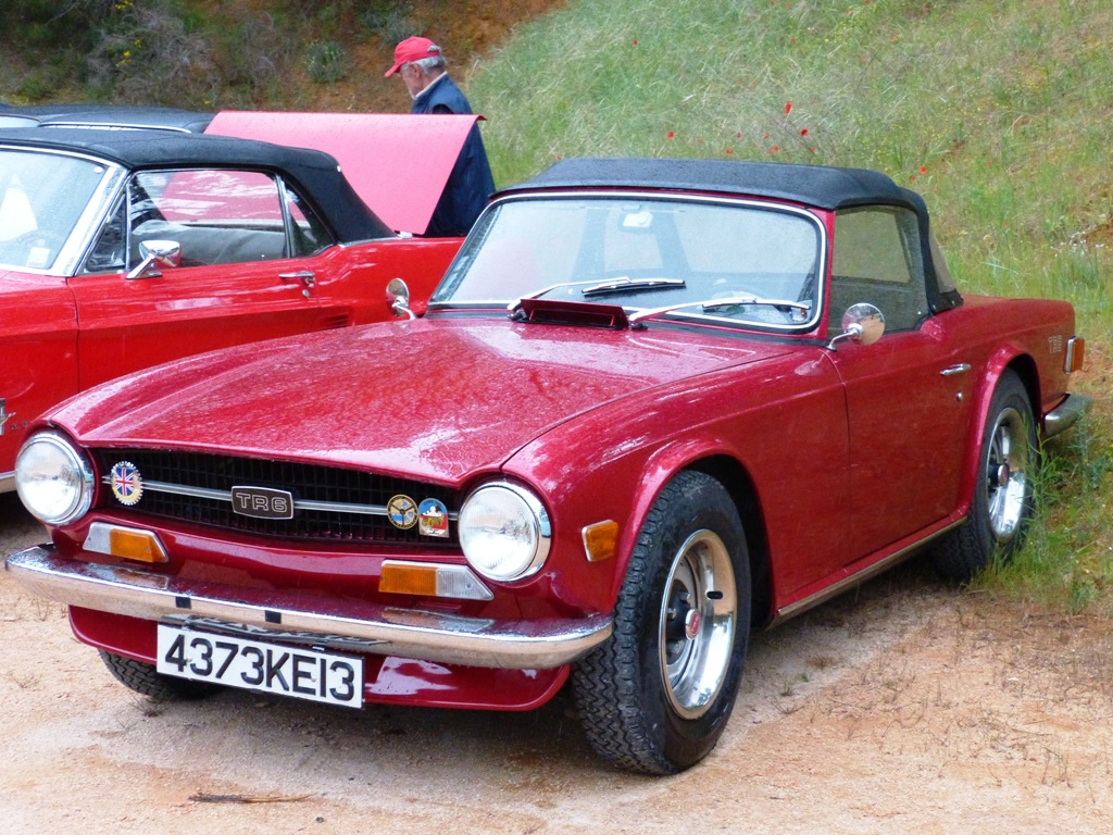 TR6 - 1969 de Maurice