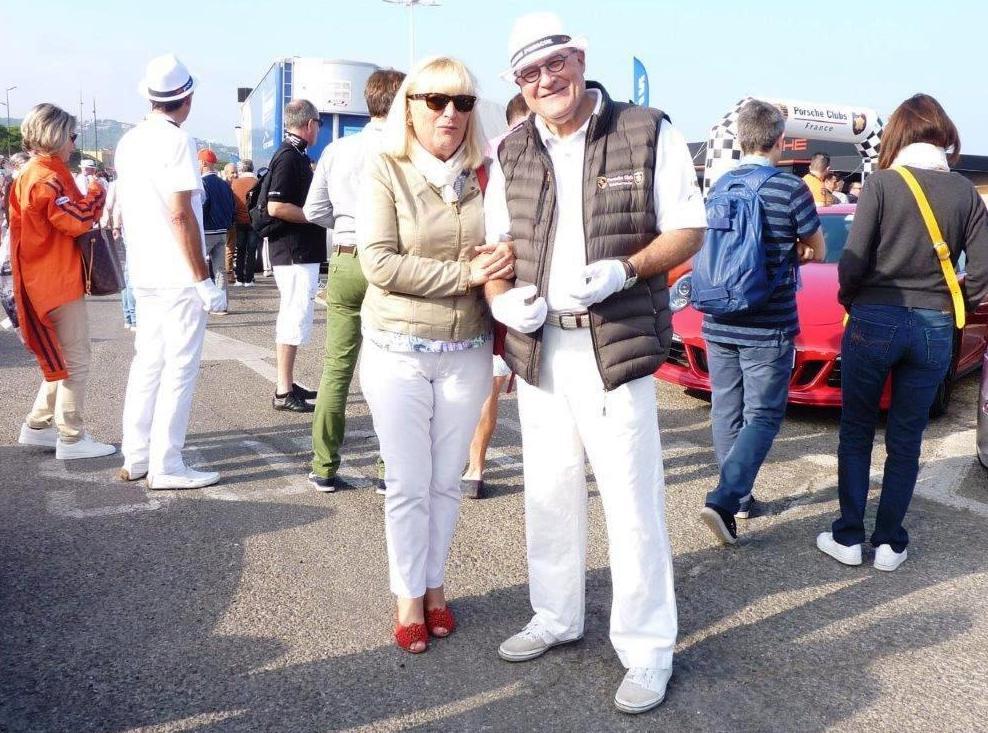 Sylviane et Jean-Claude...
