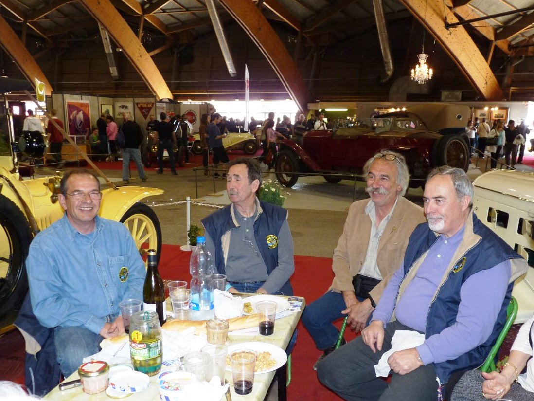 Denis, René, Didier et Maurice
