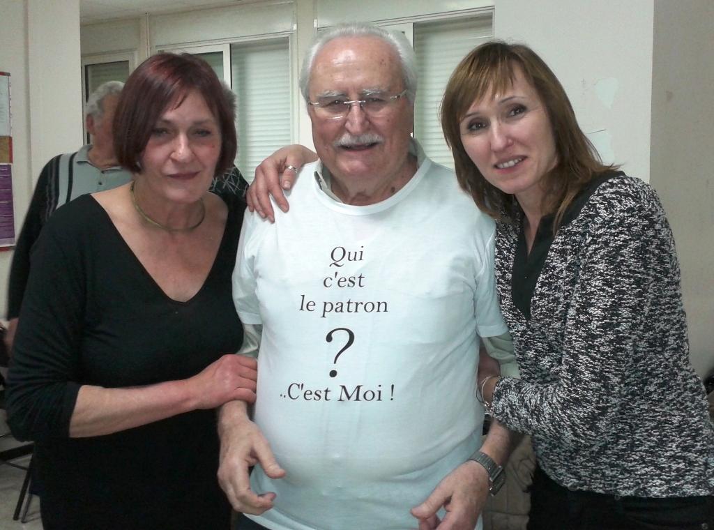 Alain et ses filles
